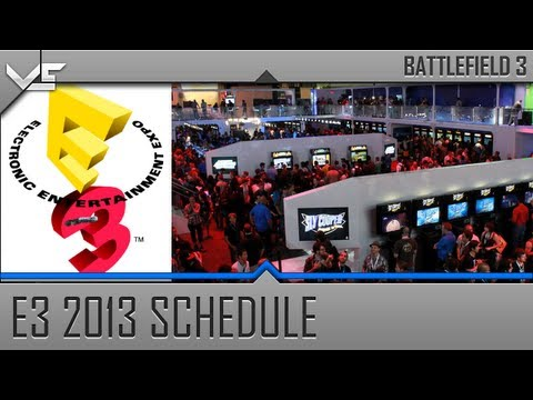 Top Games of E3 2013 & E3 Press Event Schedule