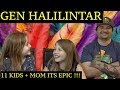 DAD AND DAUGHTERS REACTIONS TO GEN HALILINTAR 11 KIDS + MOM COVER = THIS IS ME !!!!!!