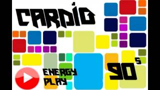 CARDIO MINI MIX 90s POP ROCK  ENERGY PLAY Y MC RECORDS  DJ QBOX XD FEAT