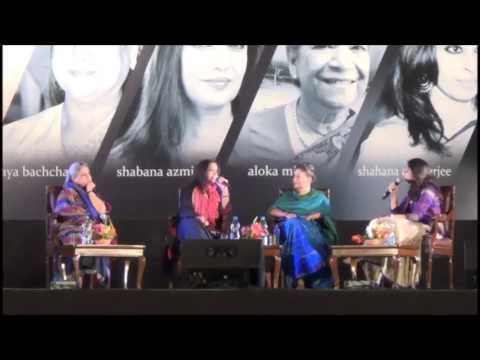 'Here comes the Shero' with Shabana Azmi, Jaya Bachchan & Aloka Mitra