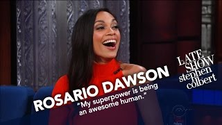 Rosario Dawson Promises She