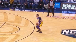 Lonzo Ball Tries To Be Stephen Curry & Misses Every Shot!