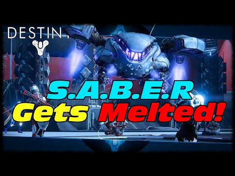 S.A.B.E.R Melted In 30 Seconds By The Molesto! Destiny Telesto The Molesto Is The Best Yo!