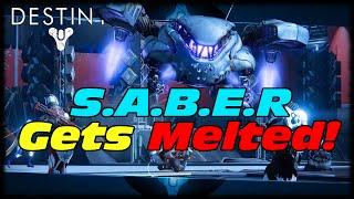 S.A.B.E.R Melted In 30 Seconds By The Molesto! Destiny Telesto The Molesto Is The Best Yo!
