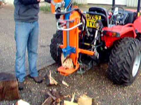 Log splitter, Riko 9 ton fast log splitter