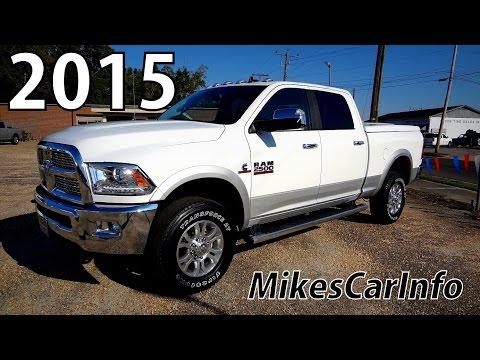 2015 RAM 2500 LARAMIE CREW CAB 5152