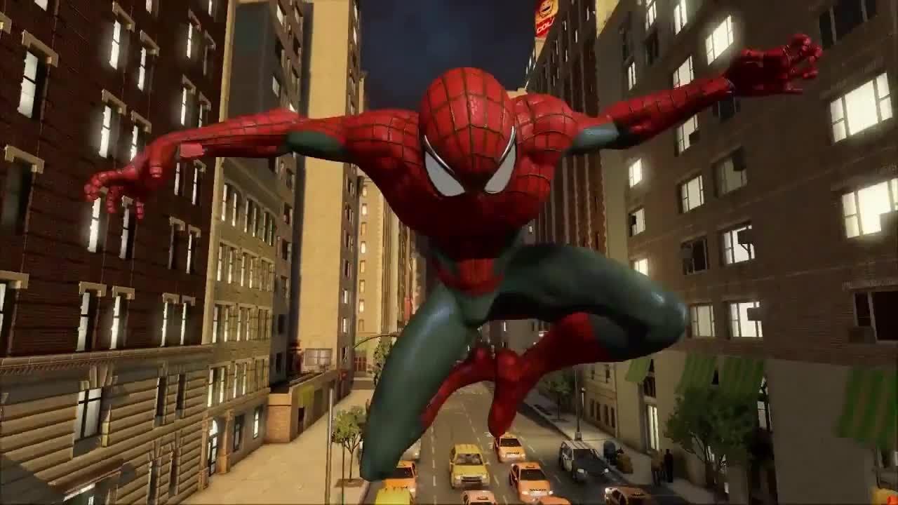 The amazing spider man 2 game trailer
