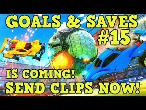 SEND Rocket League GOALS, SAVES & FAILS for Community Montage #15!
