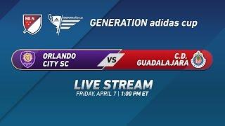 Орландо Сити до 17 : Гвадалахара до 17
