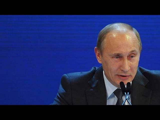 PUTIN: Here's the reason Trump 'behaves extravagantly'