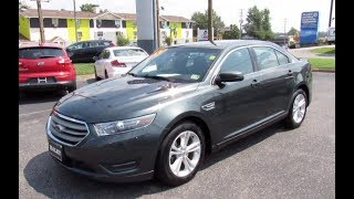 2016 Ford Taurus SEL Walkaround, Start up, Tour and Overview