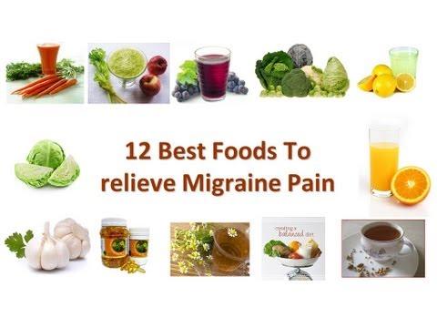 Health videos 12 best foods to relieve migraine headache