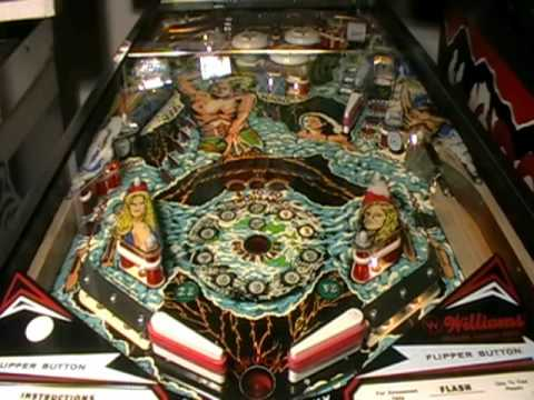 Flash Pinball Machine Video