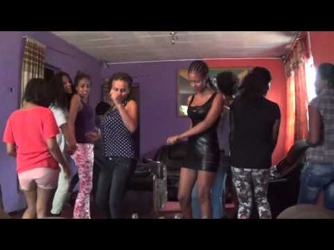 College Students Dancing In Addis Ababa Ethiopia