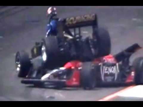 São Paulo Indy 300 - Michael Andretti crash rescue