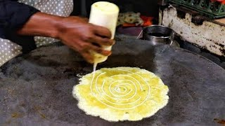 Road Side Delicious Omelette Roll & Scrambled Egg Ghotalo Ever | Egg Street Food |Indian Street Food