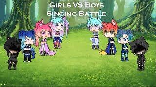 Boys vs Girls Singing battle/ GLMV