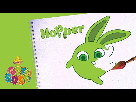BRAND NEW - SUNNY BUNNIES | Drawing Hopper | Arts & Crafts | Cartoons for Kids