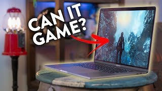 Gaming on the Vega 20 MacBook Pro!?