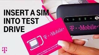 How to Insert Your SIM Card in the T-Mobile Test Drive® Device | T-Mobile