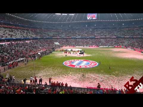 FC Bayern - Imagine Dragons - On top of the world / Allianz Arena [Meisterfeier 14/15 | 23.05.15]