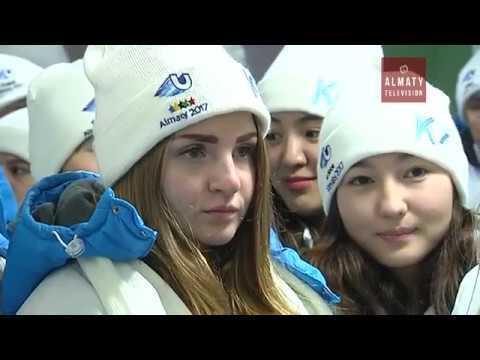 В Атлетической деревне в Алматы появились первые жильцы (23. 01.17)