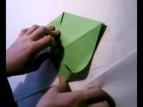 Оригами кошелек схема