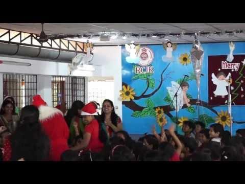 Santa @ Rajagiri Christu Jayanti Kindergarten