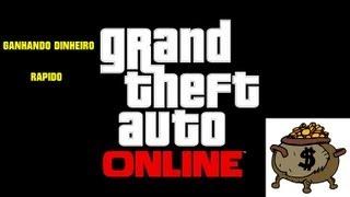 GTA V - Como ganhar dinheiro rápido e fácil no GTA V ONLINE - GTA 5