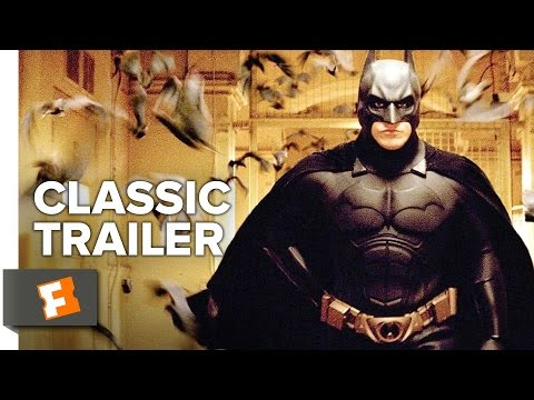 Batman Begins (2005) Official Trailer #1 - Christopher Nolan Movie