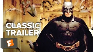 Batman Begins (2005) Official Trailer #1 - Christopher Nolan Movie