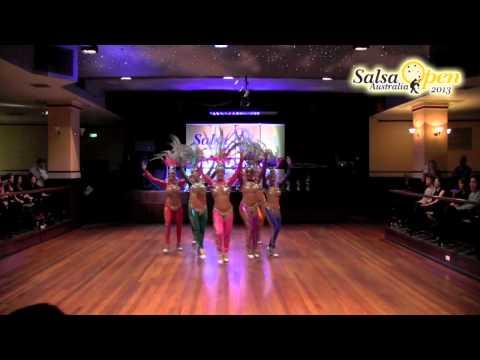 LDA Pro Samba Team Latin Open Soloist   Australian Salsa Open 2013