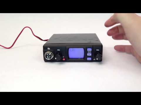 Changing bands on a TTI 560 CB Radio