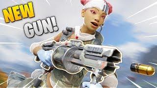 *NEW* SOFTBALL GUN FOUND!! | Best Apex Legends Funny Moments and Gameplay - Ep.95