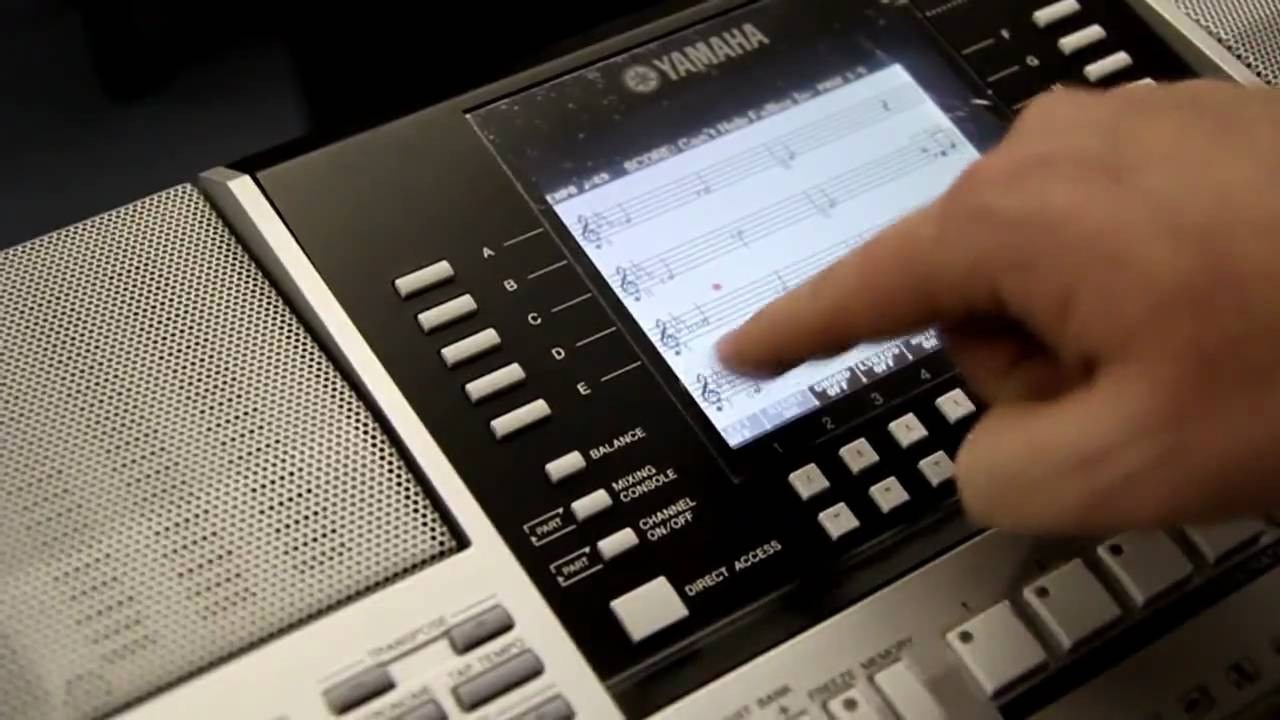 Latest Yamaha Keyboards Pictures