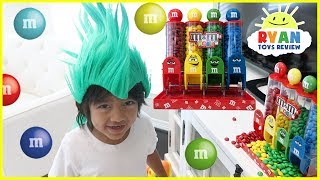 Learn Colors with M&M Candy for Children