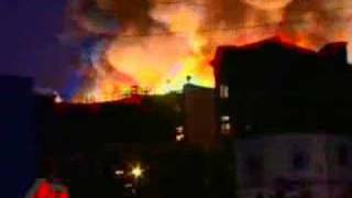 Thumb Incendio destruye Universal Studios en Hollywood
