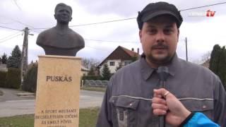 Ki volt Puskás? – zalaszabari körkérdés a Puskás-szobornál