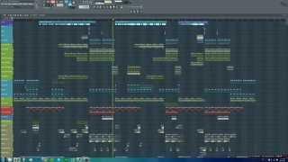 FL Studio Tropical House Remix (Calvin Harris - Outside Remix w/ FLP)