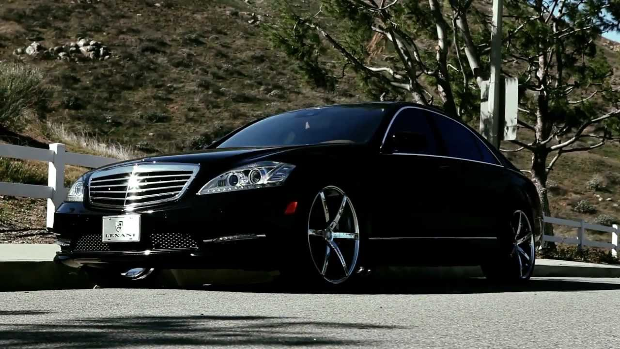 New mercedes benz s550 with 22 inch lexani r six wheels for Mercedes benz s550 rims
