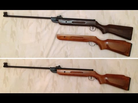 Norconia B2 .22 cal - tuned - new stock - target shooting