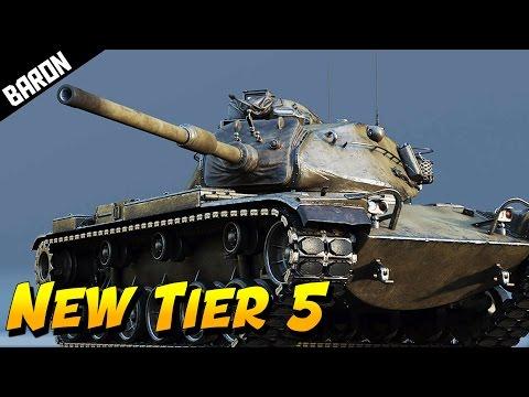 NEW Tier 5 MERICAN Tank  (War Thunder 1.61 Preview)
