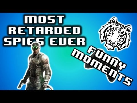 Most Retarded Spies Ever!! - Splinter Cell Funny Moments W  407 - Twerking, Stripping, And More! video