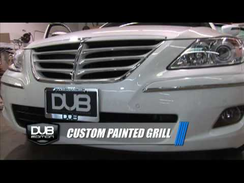 Building the DUB Edition Hyundai Genesis