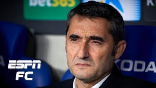 Ernesto Valverde SACKED! Why Barcelona's move is 'a little harsh' | La Liga