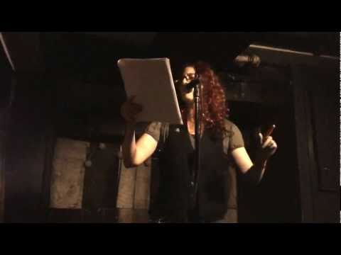 Poet Aimee Herman @ The Launch of Her 1st Book of Poetry - to go without blinking - Part 1