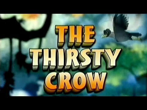 Panchatantra In Tamil - The Thirsty Crow - Animated Stories For Kids video