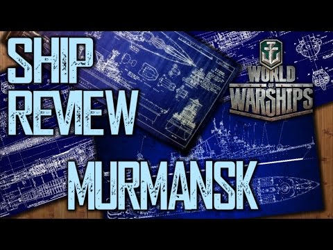 World of Warships - Murmansk Premium Tier V Soviet Cruiser Review