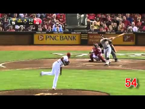 fastest Southpaw Aroldis Chapman 122 all Striking out