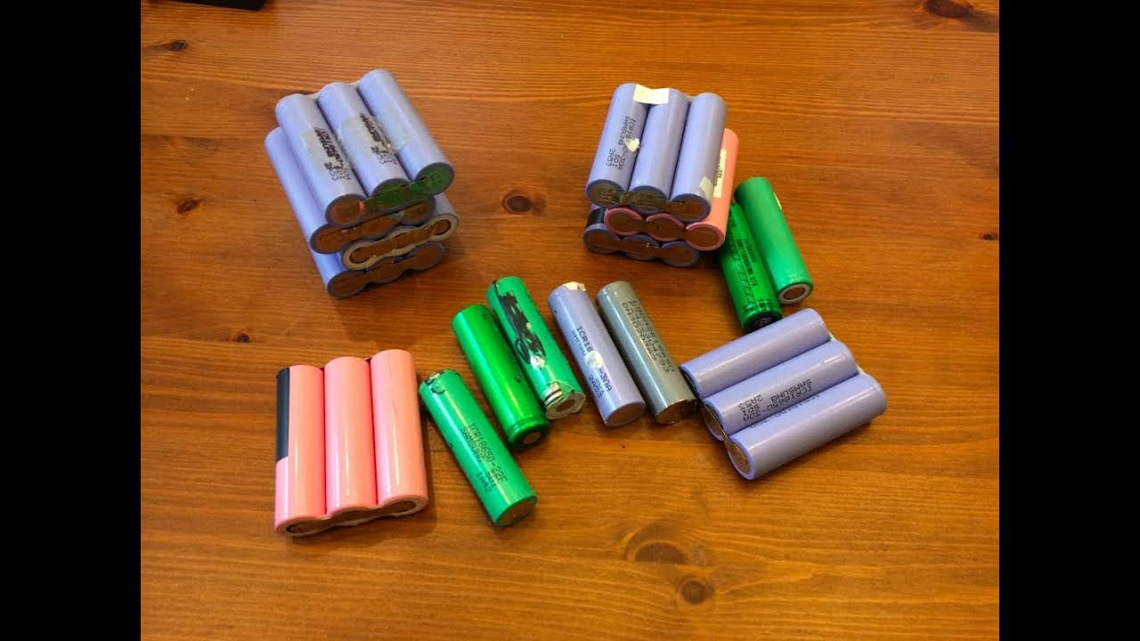 How To Make A 3s Battery From Reclaimed18650 Lithium Ion